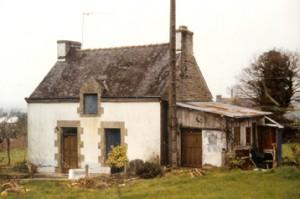 La Maison, avant qu'elle ne soit rénovée