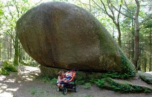 Le Rocher de Kervadail près de Ty Arthur